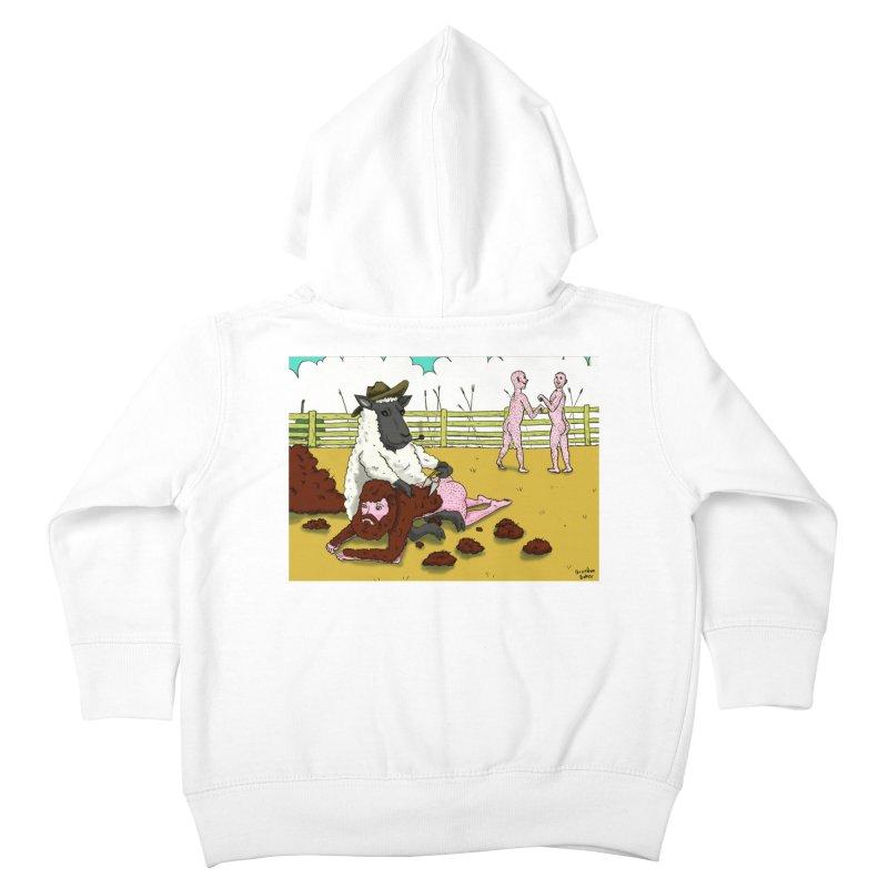 Sheering Sheep Kids Toddler Zip-Up Hoody by Baked Goods