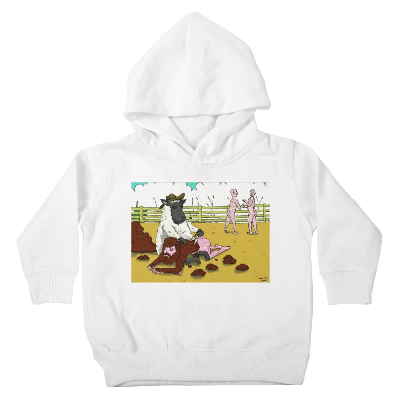 Sheering Sheep Kids Toddler Pullover Hoody by Baked Goods