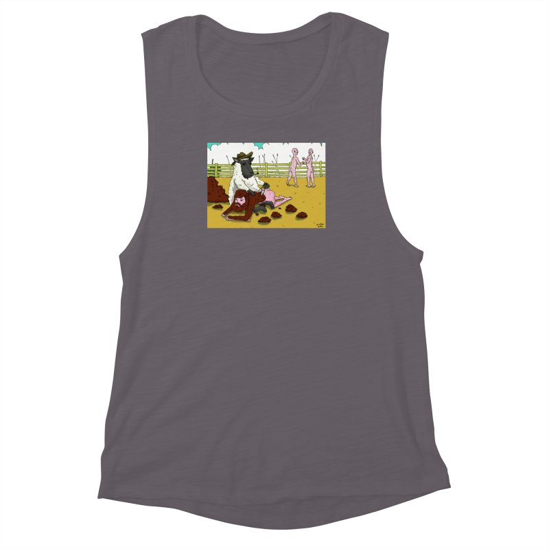 Sheering Sheep Women's Muscle Tank by Baked Goods
