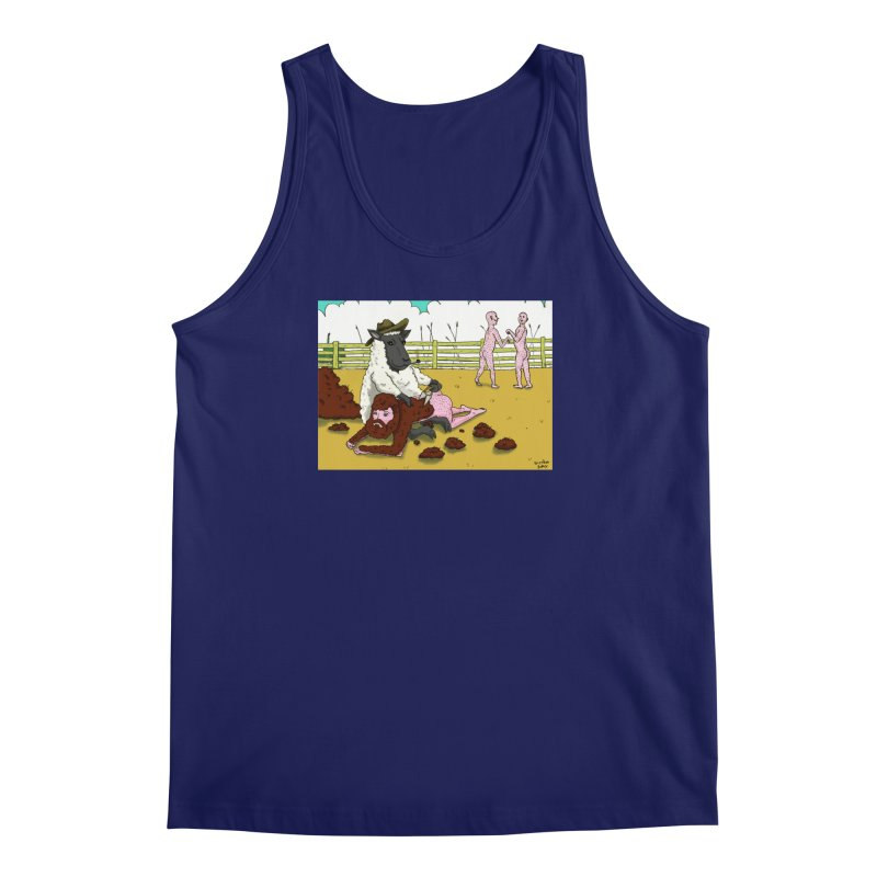 Sheering Sheep Men's Tank by Baked Goods