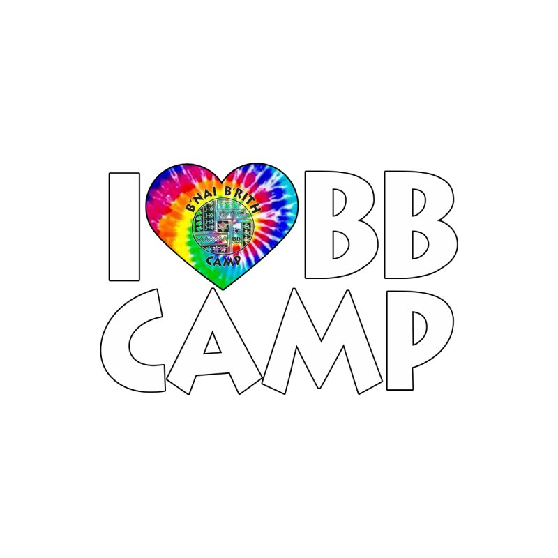 I heart BB Camp Tie-Dye   by BB Camp