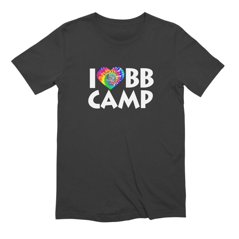 I heart BB Camp Tie-Dye Men's Extra Soft T-Shirt by BB Camp