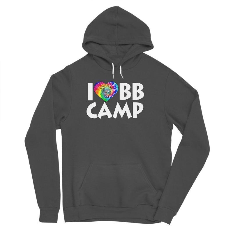 I heart BB Camp Tie-Dye Men's Sponge Fleece Pullover Hoody by BB Camp