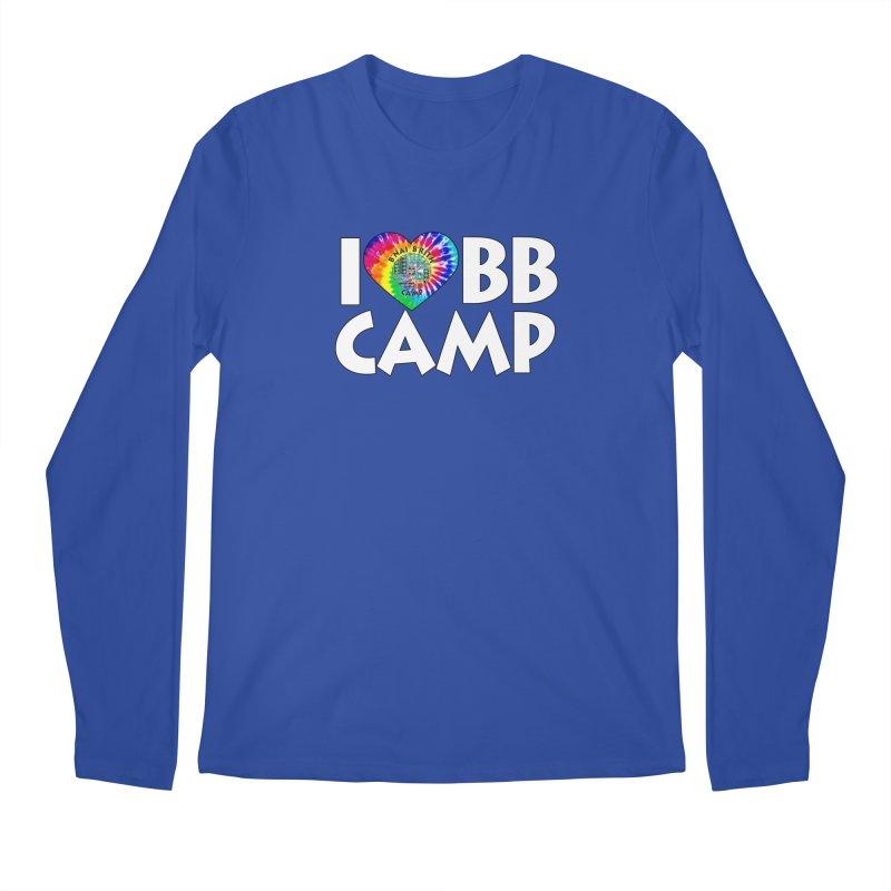 I heart BB Camp Tie-Dye Men's Regular Longsleeve T-Shirt by BB Camp