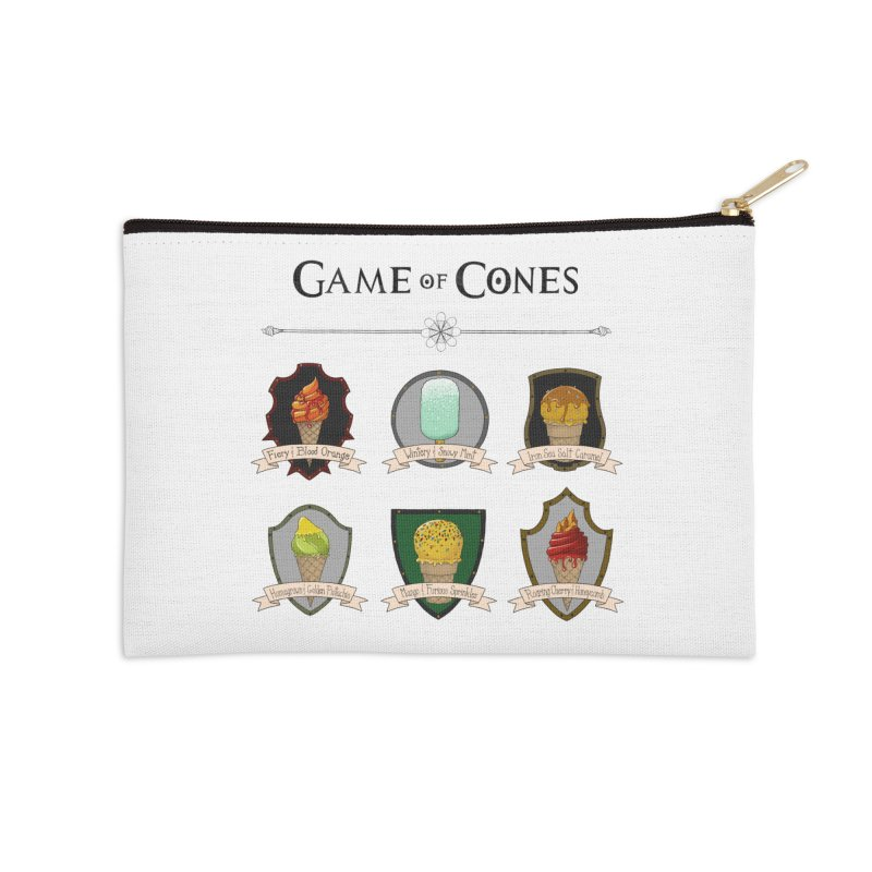 SUMMER IS COMING Accessories Zip Pouch by bbdreamdesigns's Artist Shop