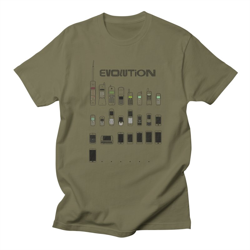 Mobile Evolution Women's Unisex T-Shirt by bbdreamdesigns's Artist Shop