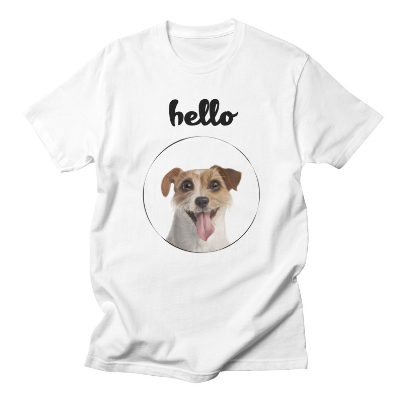 Hello Dog Women's T-Shirt by bbdreamdesigns's Artist Shop