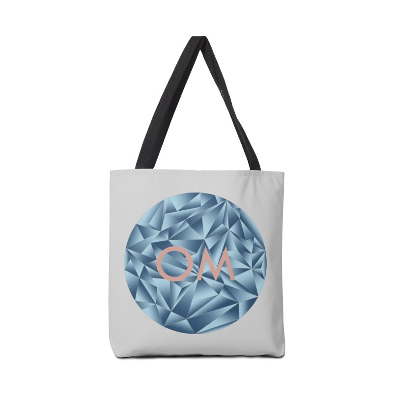 Yoga Om Circle Accessories Bag by bbdreamdesigns's Artist Shop