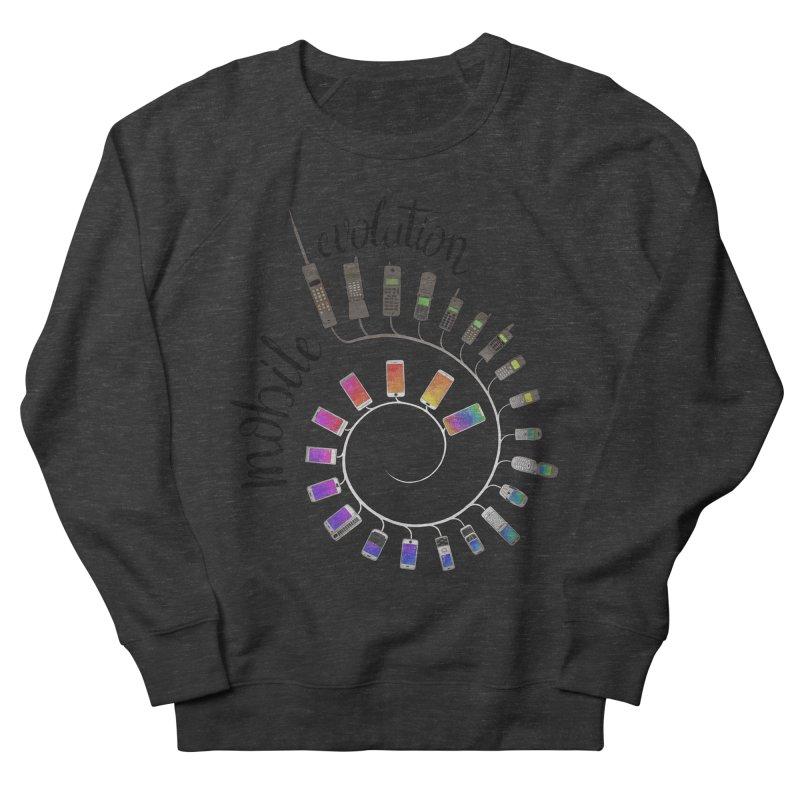 Mobile Evolution Men's Sweatshirt by bbdreamdesigns's Artist Shop