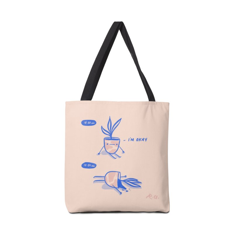 I'M OKAY Accessories Tote Bag Bag by RACHEL AURIEMMA