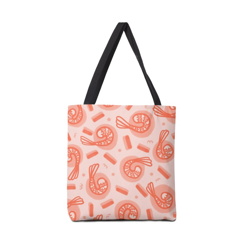 SHRIMP DREAMS in Tote Bag by BB TAMAGOTCHI