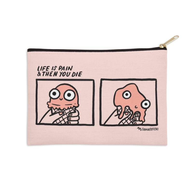LIFE Accessories Zip Pouch by RACHEL AURIEMMA