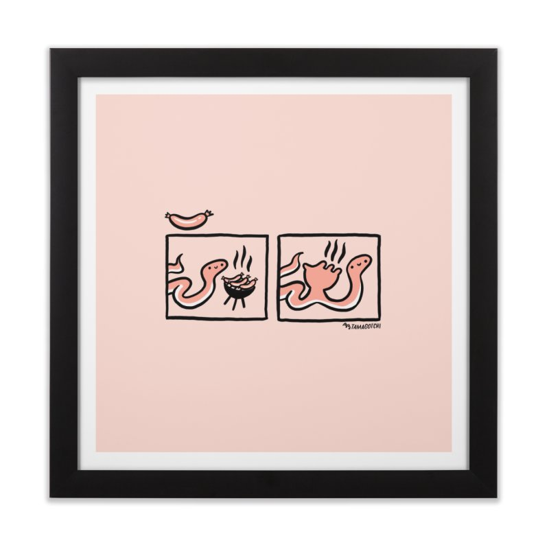 BB-Q Home Framed Fine Art Print by RACHEL AURIEMMA