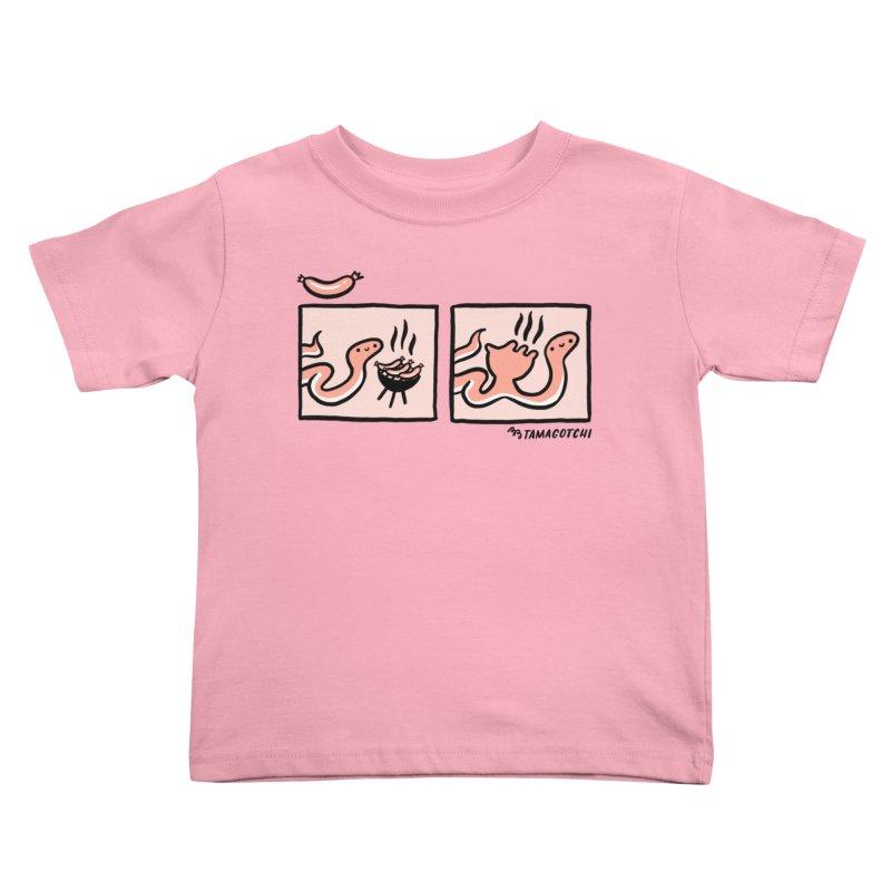 BB-Q Kids Toddler T-Shirt by BB TAMAGOTCHI