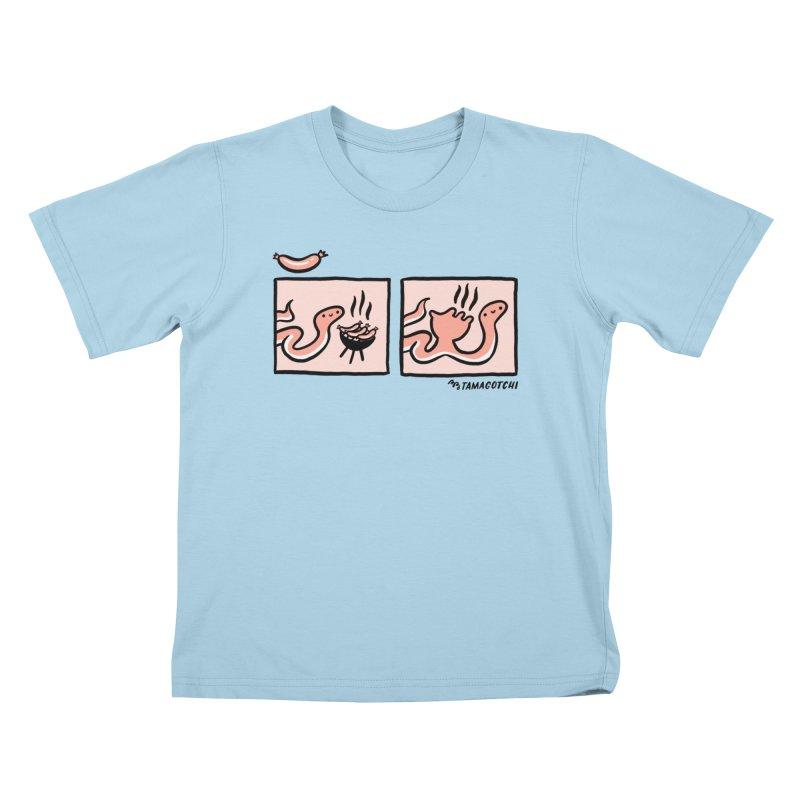 BB-Q Kids T-Shirt by RACHEL AURIEMMA