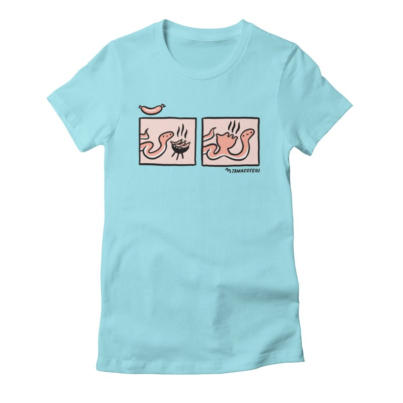 BB-Q Women's Fitted T-Shirt by BB TAMAGOTCHI