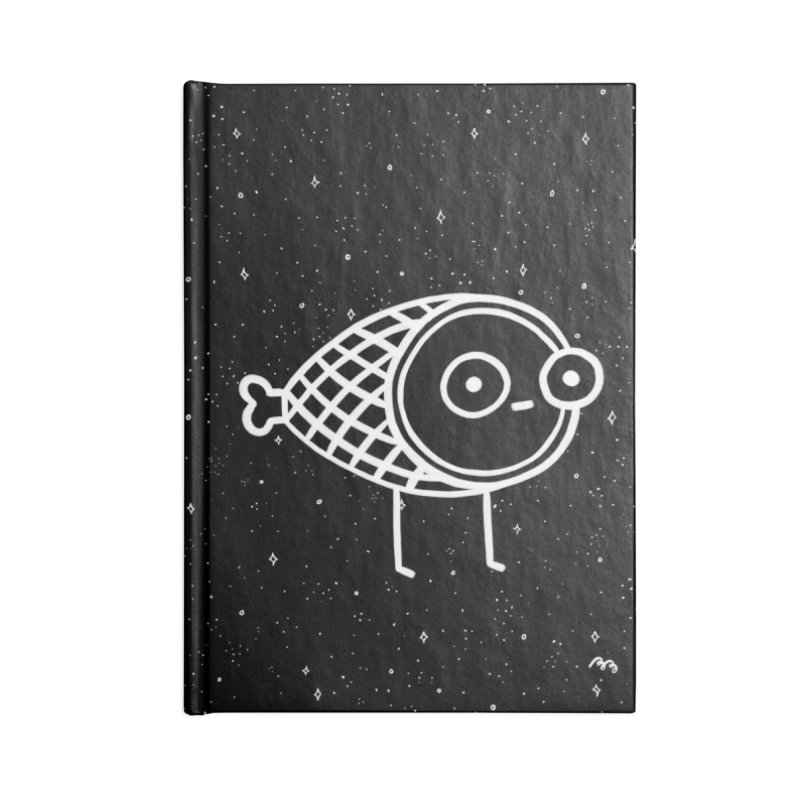 THE BLACK FOREST HAM Accessories Lined Journal Notebook by BB TAMAGOTCHI