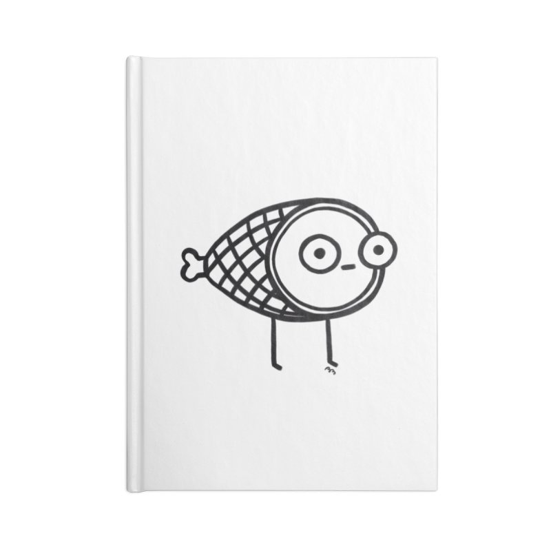 THE MINIMAL HAM Accessories Lined Journal Notebook by BB TAMAGOTCHI