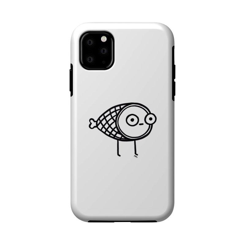 THE MINIMAL HAM Accessories Phone Case by RACHEL AURIEMMA