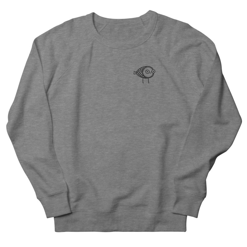 THE MINIMAL HAM Men's French Terry Sweatshirt by RACHEL AURIEMMA