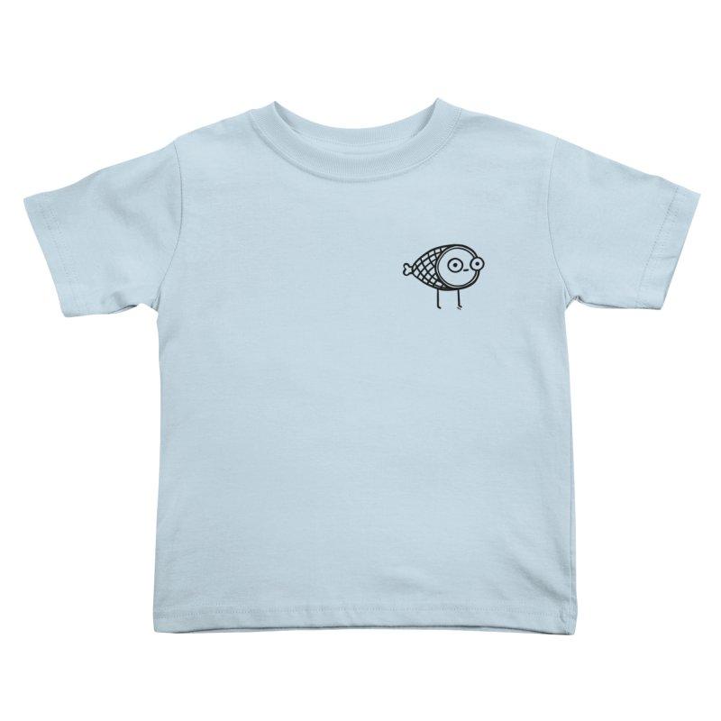 THE MINIMAL HAM Kids Toddler T-Shirt by BB TAMAGOTCHI