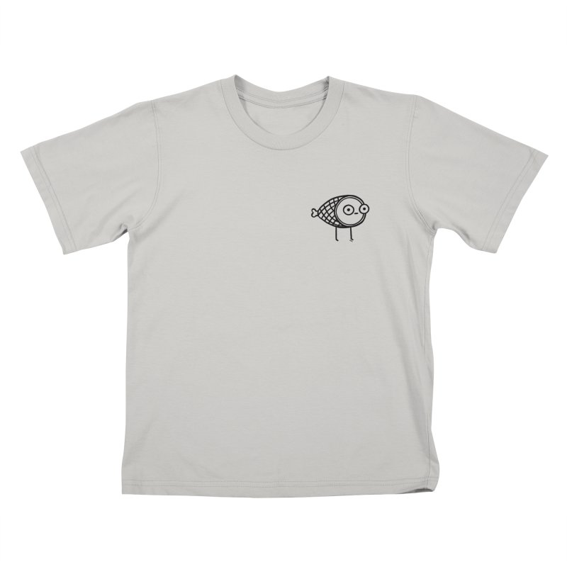 THE MINIMAL HAM in Kids T-Shirt Stone by BB TAMAGOTCHI