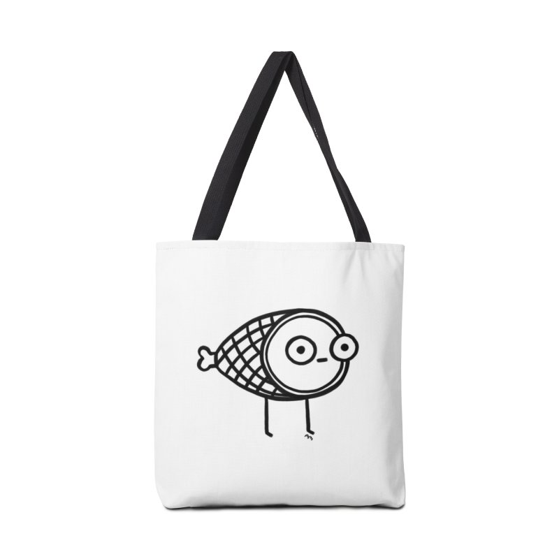 THE MINIMAL HAM Accessories Tote Bag Bag by RACHEL AURIEMMA