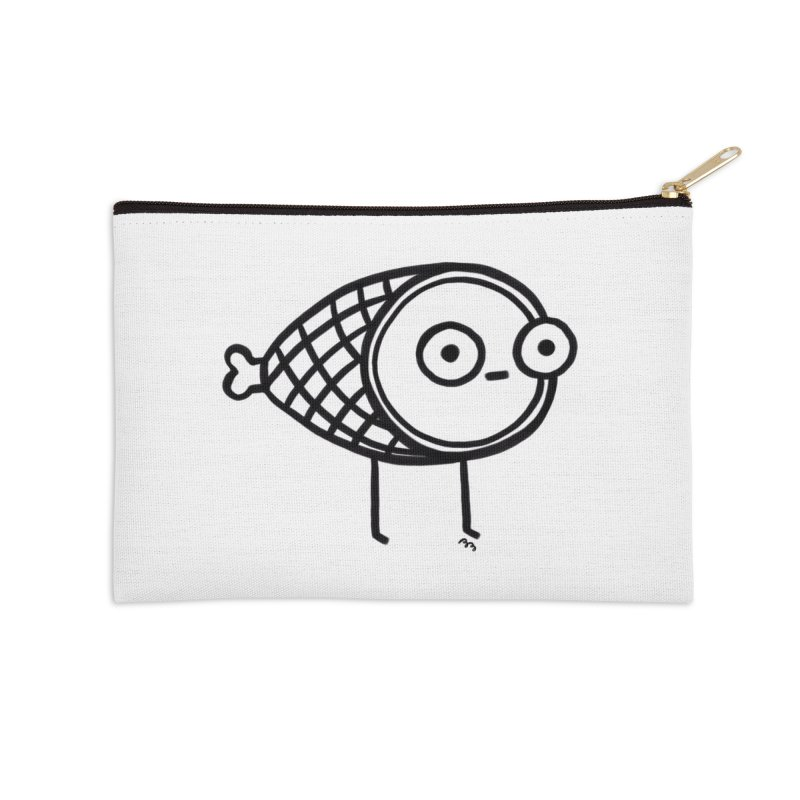 THE MINIMAL HAM Accessories Zip Pouch by RACHEL AURIEMMA