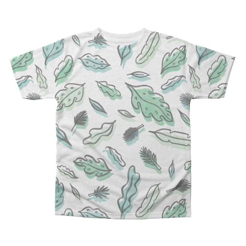 PLANTIN' Men's Triblend All Over Print by BB TAMAGOTCHI