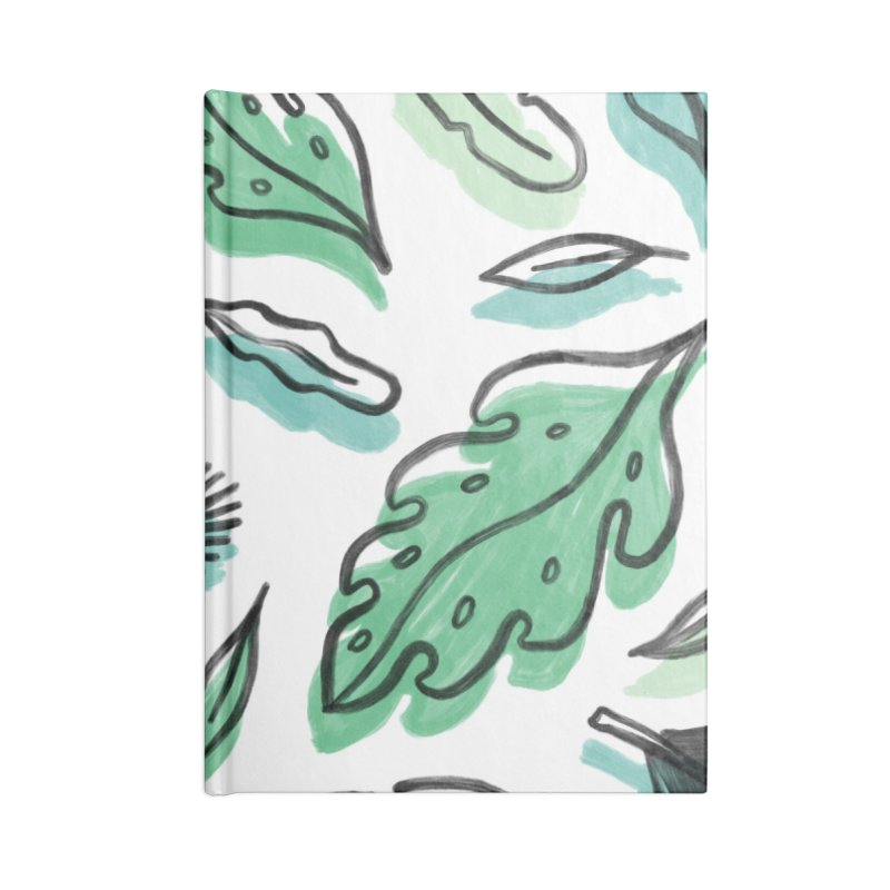 PLANTIN' Accessories Lined Journal Notebook by BB TAMAGOTCHI