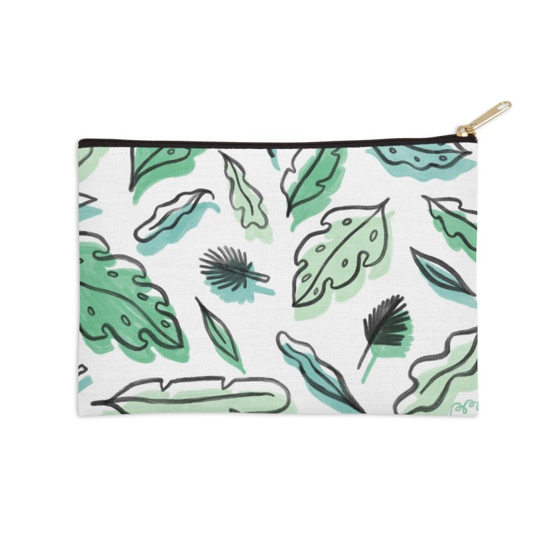 PLANTIN' Accessories Zip Pouch by RACHEL AURIEMMA