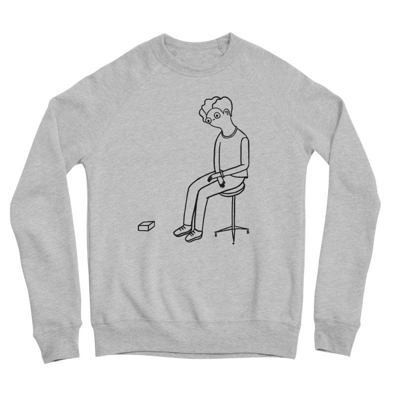 I HAVE FUN Men's Sponge Fleece Sweatshirt by RACHEL AURIEMMA
