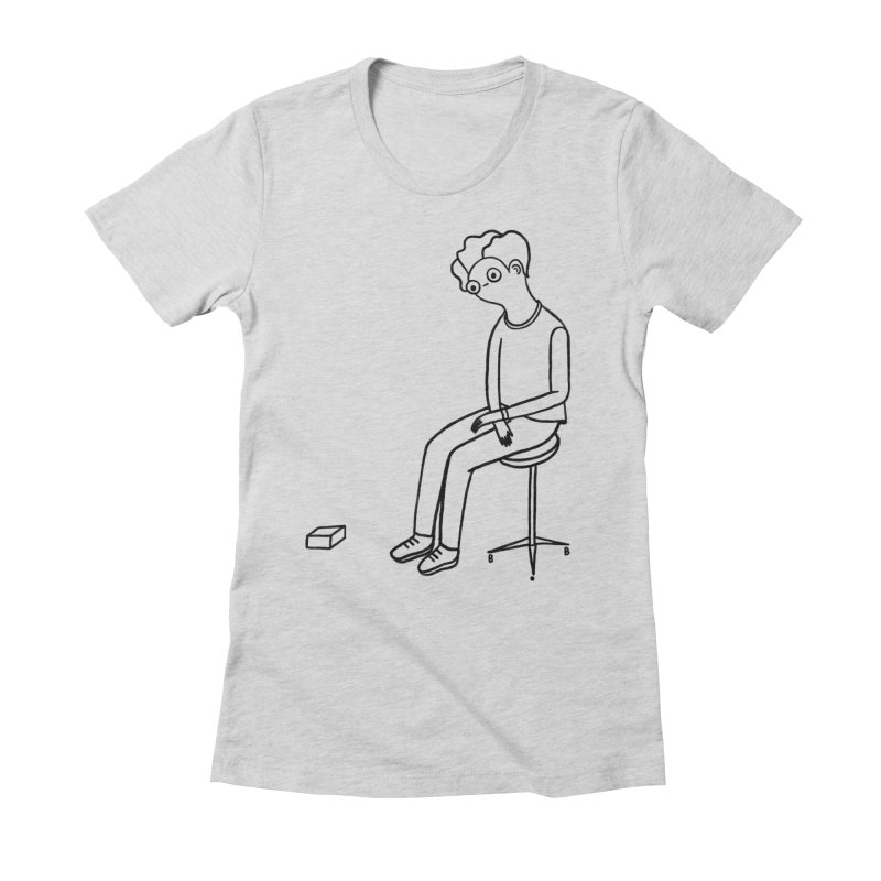 I HAVE FUN Women's Fitted T-Shirt by BB TAMAGOTCHI