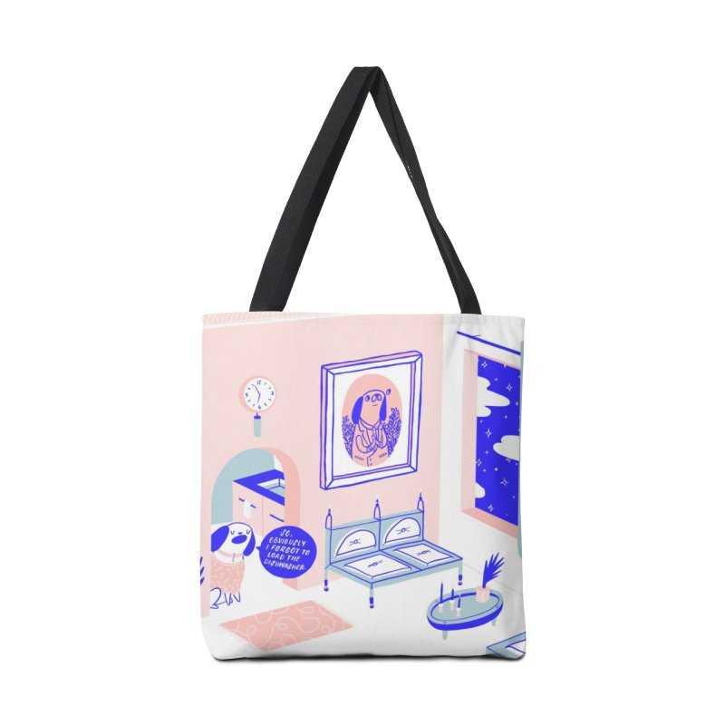 DESIGNER DOG Accessories Tote Bag Bag by RACHEL AURIEMMA