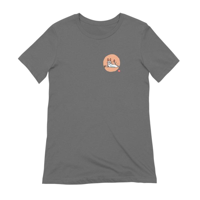 FIRECAT (WHITE VERSION) Women's Extra Soft T-Shirt by RACHEL AURIEMMA