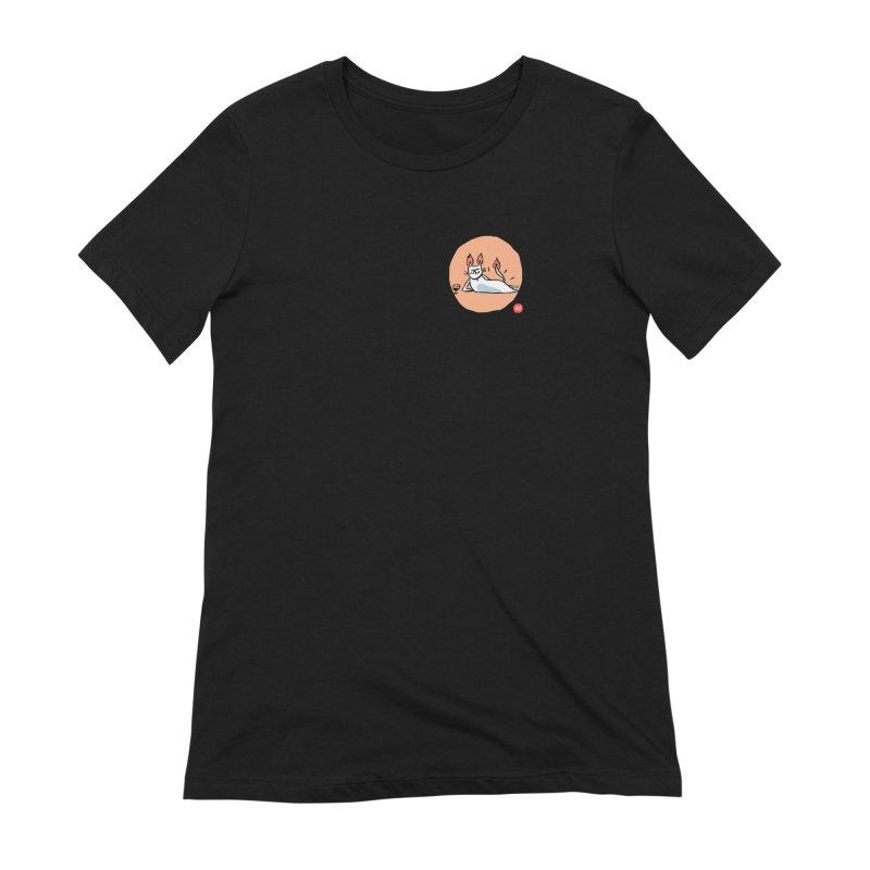 FIRECAT (WHITE VERSION) Women's Extra Soft T-Shirt by BB TAMAGOTCHI