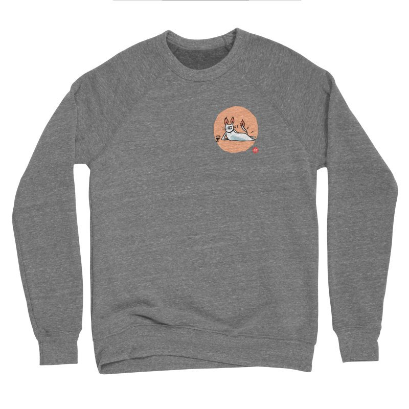 FIRECAT (WHITE VERSION) Women's Sweatshirt by RACHEL AURIEMMA