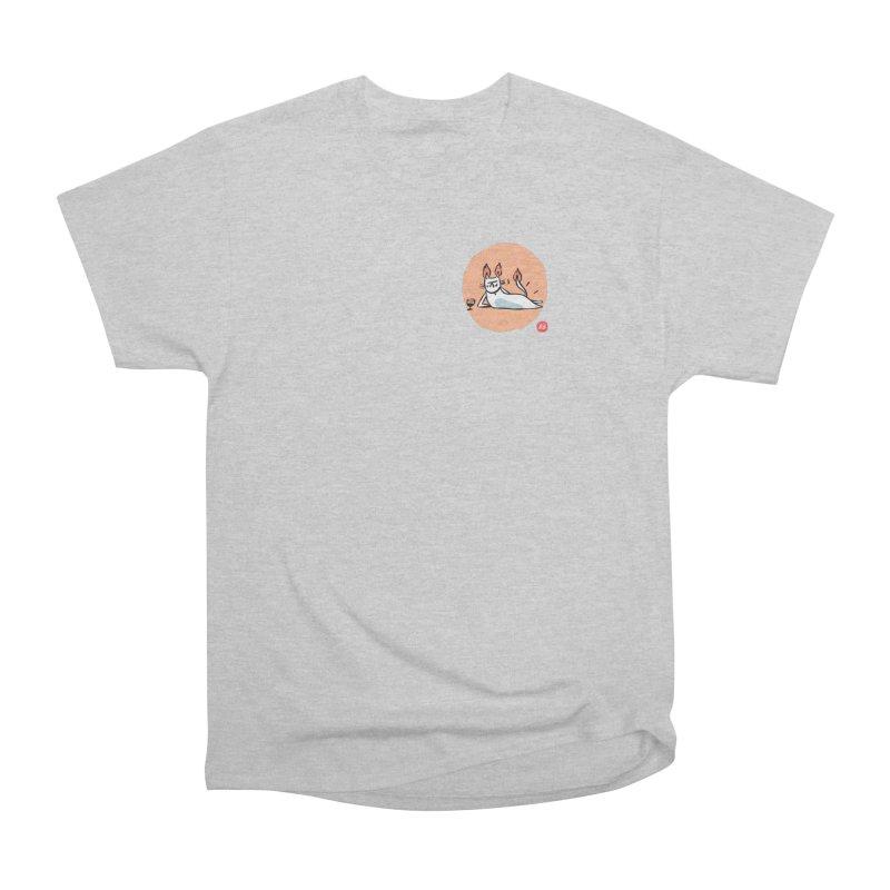 FIRECAT (WHITE VERSION) Women's Heavyweight Unisex T-Shirt by BB TAMAGOTCHI