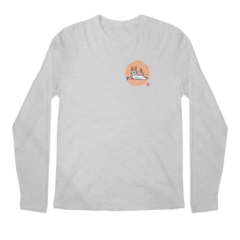 FIRECAT (WHITE VERSION) Men's Regular Longsleeve T-Shirt by RACHEL AURIEMMA