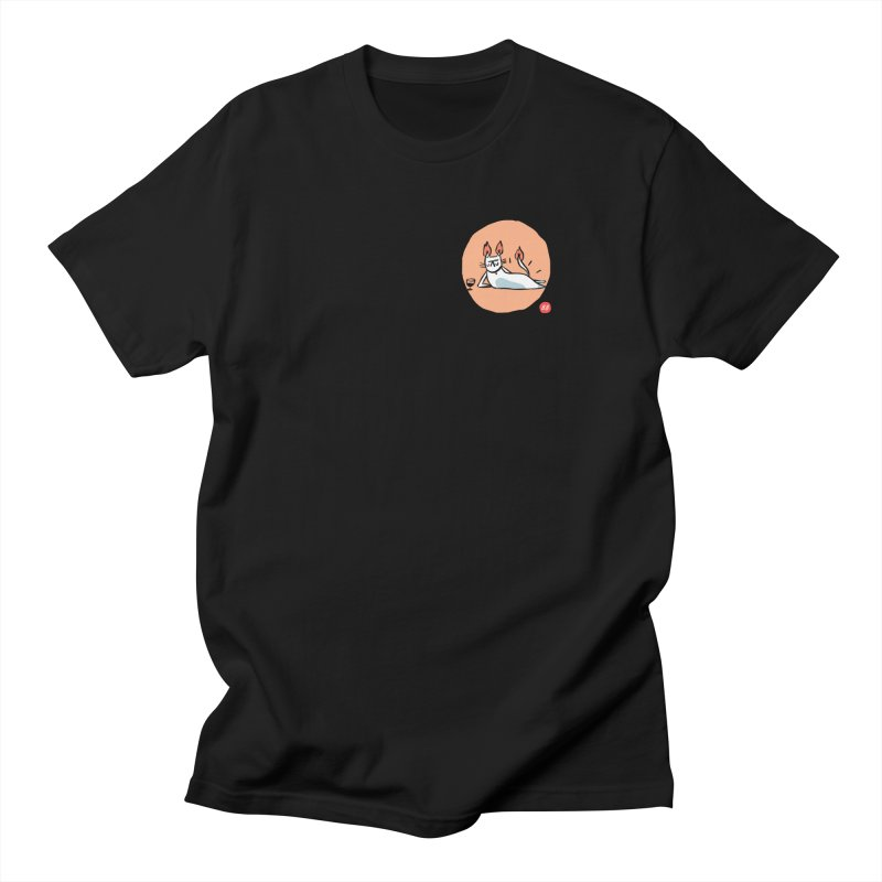 FIRECAT (WHITE VERSION) Women's Regular Unisex T-Shirt by RACHEL AURIEMMA