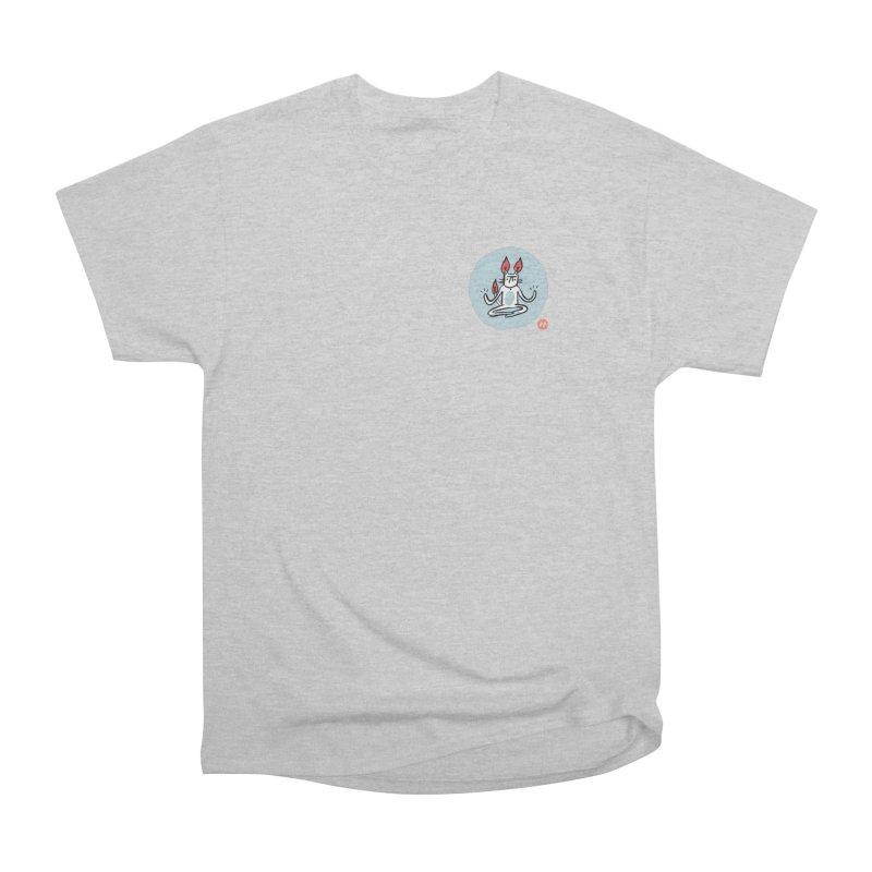 FIRECAT (BLUE VERSION) Women's Heavyweight Unisex T-Shirt by BB TAMAGOTCHI