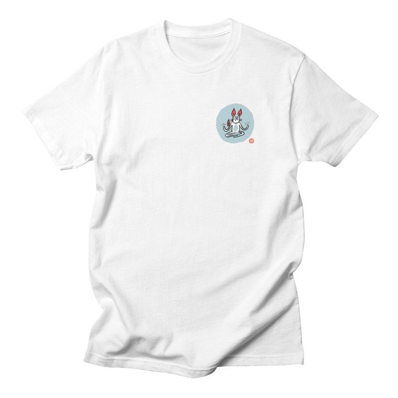 FIRECAT (BLUE VERSION) Women's Regular Unisex T-Shirt by RACHEL AURIEMMA