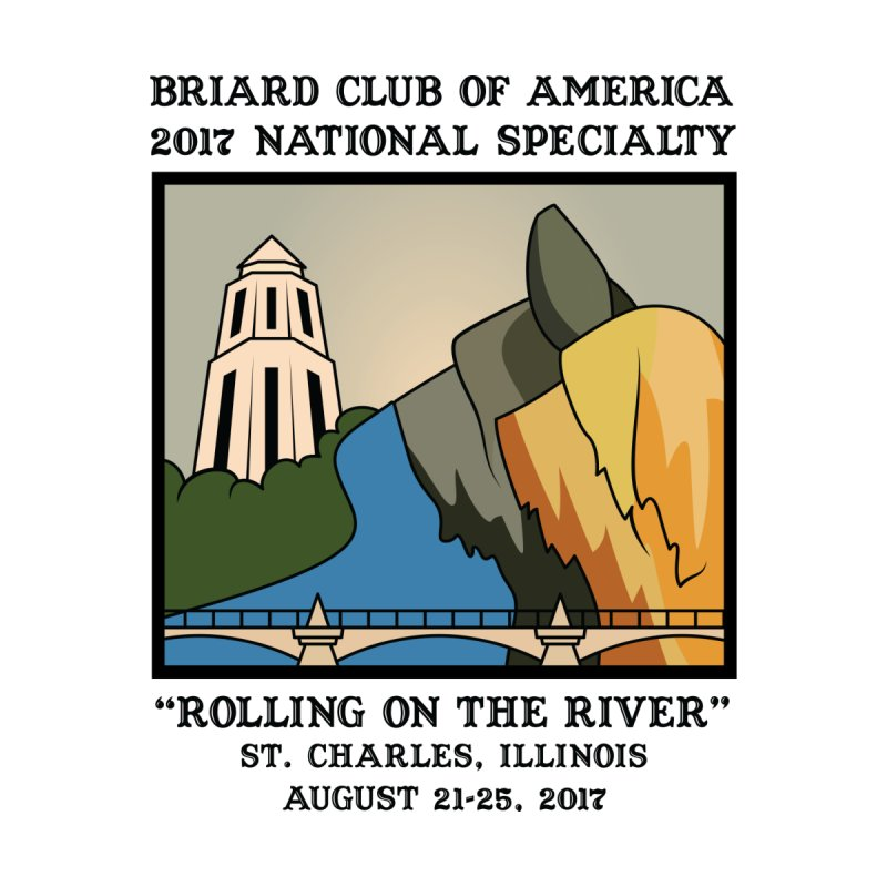 2017 National Specialty Logo by Briard Club of America's Artist Shop