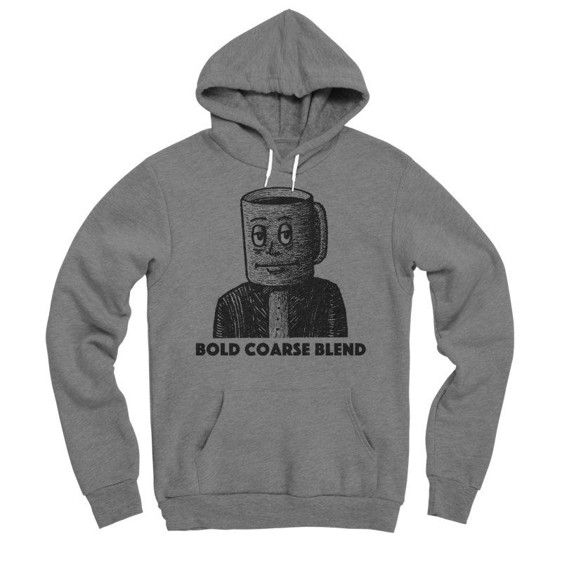 FANCY JOE Men's Sponge Fleece Pullover Hoody by Bold Coarse Blend Shop