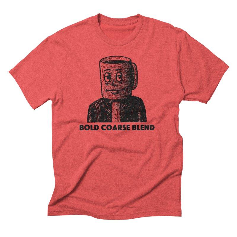 FANCY JOE Men's Triblend T-Shirt by Bold Coarse Blend Shop