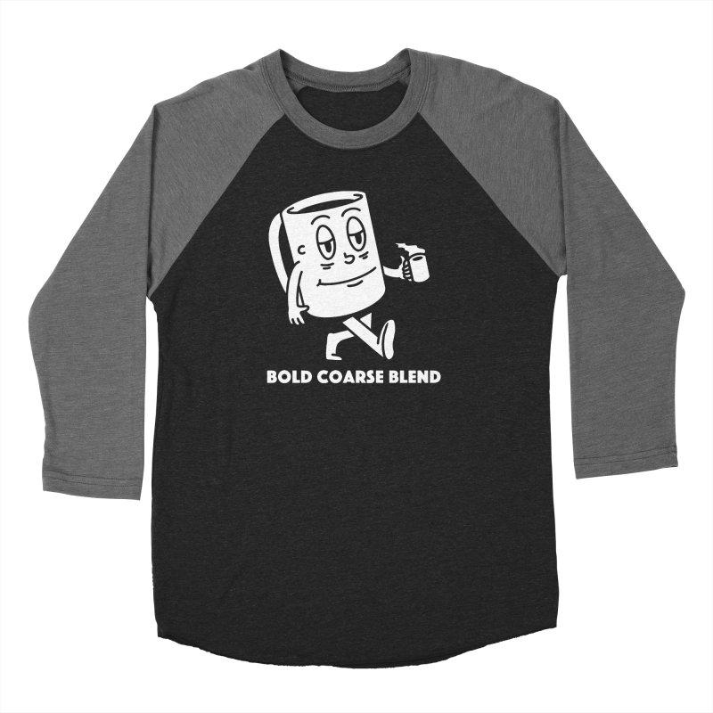 WALKING JOE Men's Baseball Triblend Longsleeve T-Shirt by Bold Coarse Blend Shop