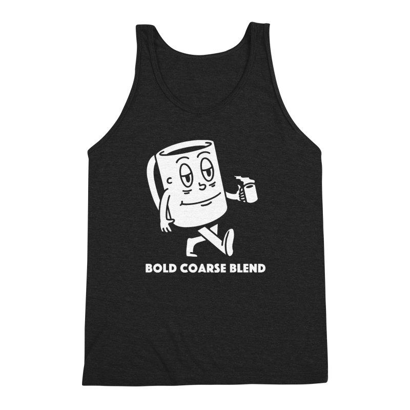 WALKING JOE Men's Triblend Tank by Bold Coarse Blend Shop