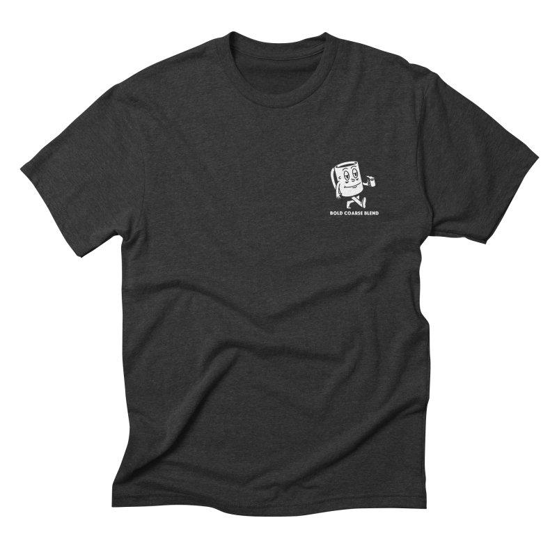 WALKING JOE (MINI) Men's Triblend T-Shirt by Bold Coarse Blend Shop
