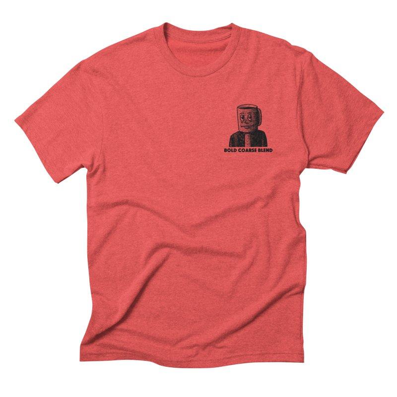 FANCY JOE (MINI) Men's Triblend T-Shirt by Bold Coarse Blend Shop