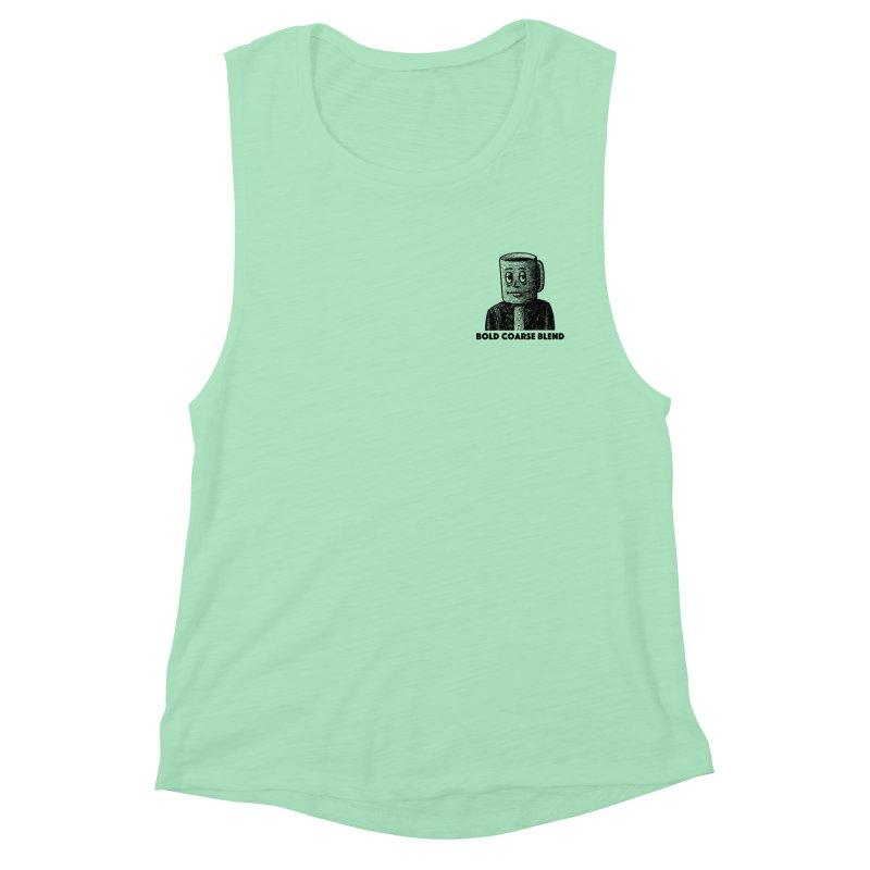 FANCY JOE (MINI) Women's Muscle Tank by Bold Coarse Blend Shop